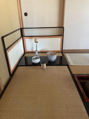 長板、総荘。雪丸庵での初稽古。八ヶ岳の家具工房ZEROSSOのオーダーメイド家具、モダンなお仏壇、オリジナルの茶道具。