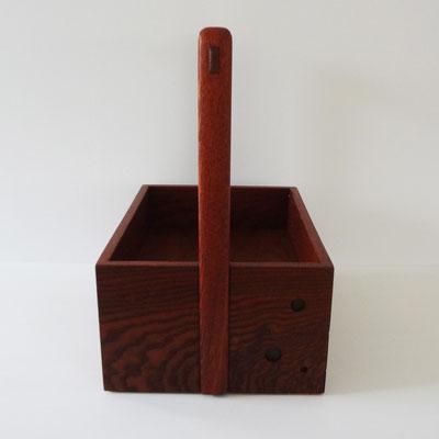 煙草盆・抽斗付き/朝鮮木。八ヶ岳の家具工房ZEROSSOの創作家具、お仏壇、アート作品。