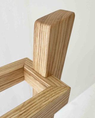 タモのスリッパラック。家具工房ZEROSSOの注文家具・オーダーメイド家具・創作オリジナル家具。キャビネット、お仏壇、茶道具、アート作品、異素材とのコラボレーション作品。