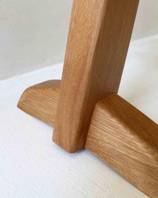 マカバのスリッパラック。家具工房ZEROSSOの注文家具・オーダーメイド家具・創作オリジナル家具。キャビネット、お仏壇、茶道具、アート作品、異素材とのコラボレーション作品。