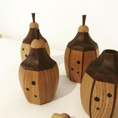 八角振出/八ヶ岳の家具工房ZEROSSOの茶道具