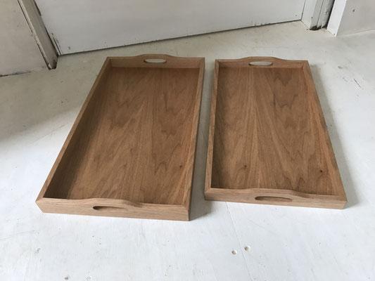 乱れ箱大小/八ヶ岳の家具工房ZEROSSOの茶道具