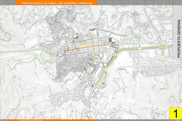 2001 - Plan maestro para el casco central de Baruta, Venezuela