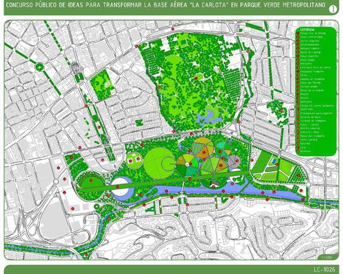 2012 - Plan maestro para un Parque verde en La Carlota