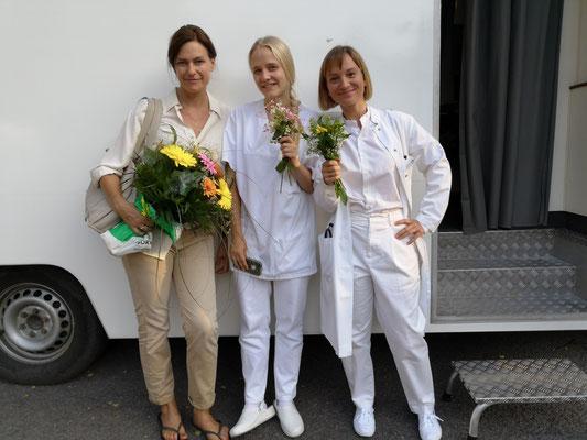Drehschluss am Set von Ostwind 4 - Aris Ankunft! Mit Nina Kronjäger und Judith Altmeyer - danke für die schöne Zeit mit Euch!