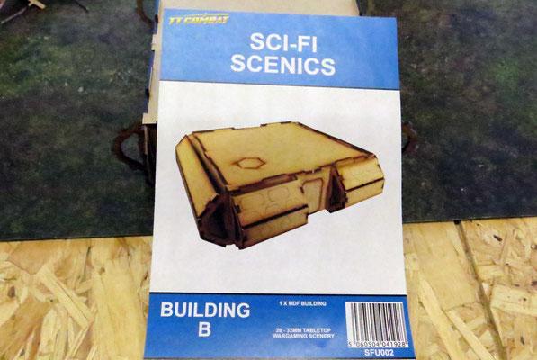 TTCombat SCI-FI SCENICS - Building B. An diesem Bausatz nehmen wir einige Veränderungen vor