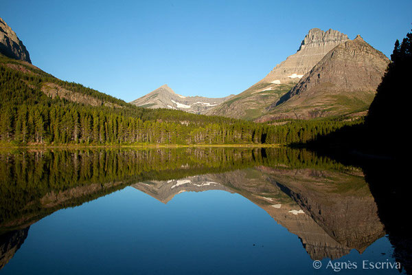Fishercap lake, Glacier National Park