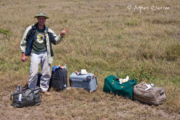 Les bagages arrivent 5 jours après nous... - Tanzanie février 2008