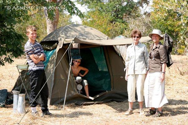 Campement, Botswana 2007