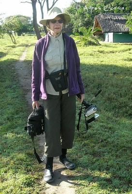 Retour de balade - Shoebill camp - Zambie mai 2006