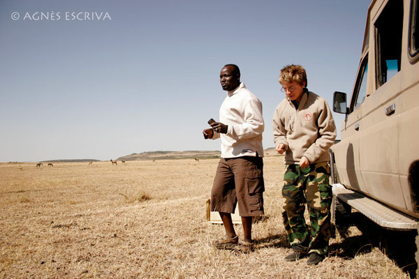 Pause café du matin en dansant, Masaï Mara août 2010
