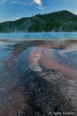 Grand Prismatic, Midway Geyser Basin, Parc du Yellowstone