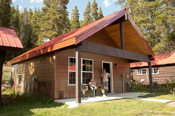 Cabane, Yellowstone, Etats-Unis, Août 2013
