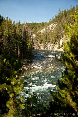 Yellowstone river, Grand canyon of the Yellowstone