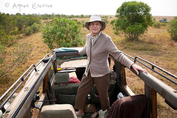 Masaï Mara, Kenya - février 2011