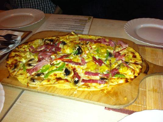 ドイツのピザ