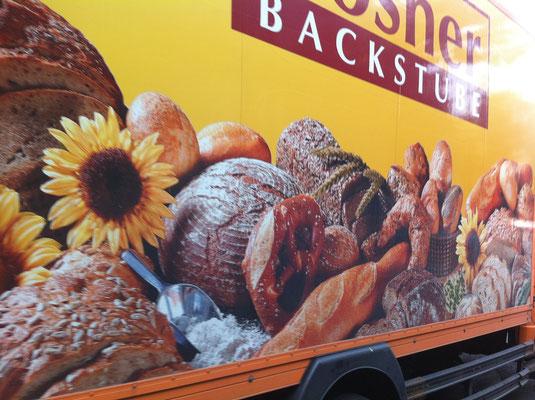 パン屋さんのトラック