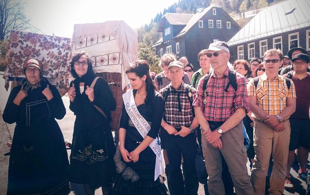 Einweihung Glasbäserpfad Lauscha - Sonneberg 7. 5. 2016