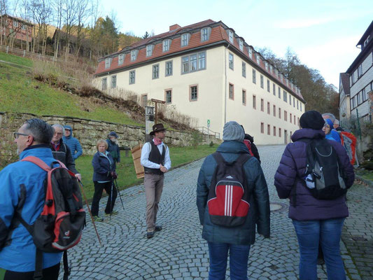 Start am Neuen Schloss Rauenstein 2015