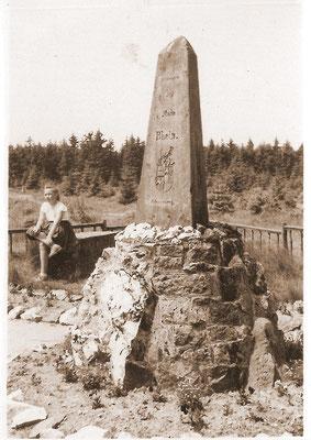 Dreistromstein - vor über 50 Jahren