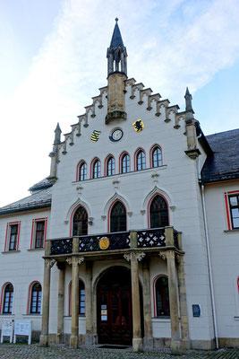 Start der Tour: Markplatz vor dem Alten Rathaus