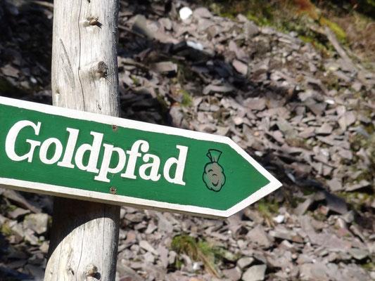 Goldpfad durchs Schieferland