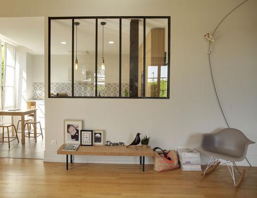 VERRIERES - Ferronerie sur mesure, verrières, escaliers, mobiliers
