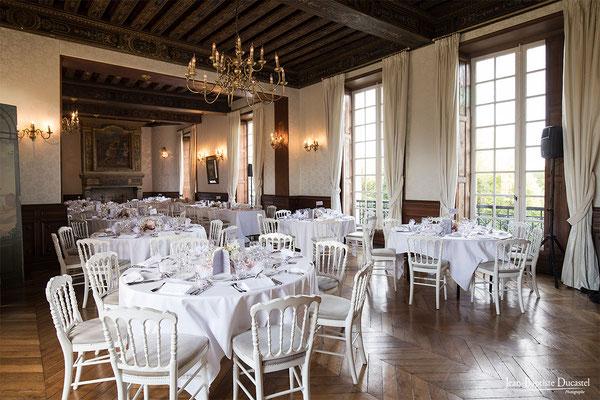 Salle de repas du Château de Lésigny (77)