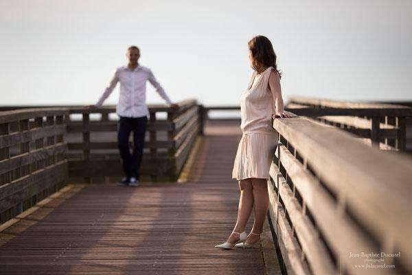 Séance engagement mariage à Dieppe