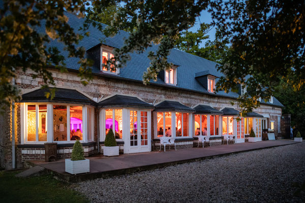 Salle de réception du Château de Sauchay 76 Normandie