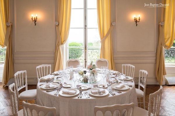 Table au Château de Santeny (Val de Marne)