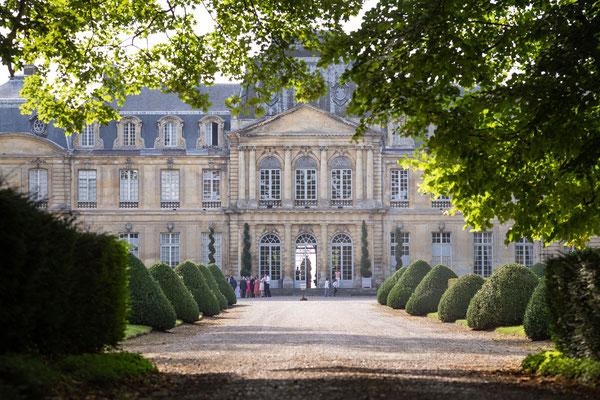 Allée de Château de Champlatreux