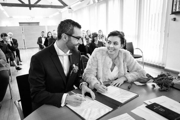 Mariage à la mairie de Saint Pierre lès Elbeuf