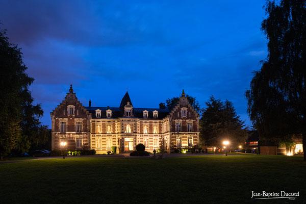 Château de Lésigny de nuit 77