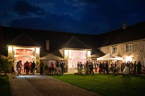 Mariage au Nomade Lodge en octobre 2019 - La Chapelle Gauthier 77