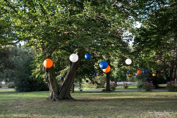 Parc du Domaine Le Thurel décoré par Marie Popin's