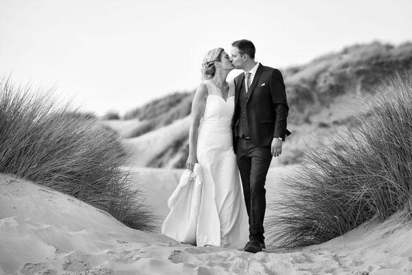 Séance after wedding à Fort Mahon Plage