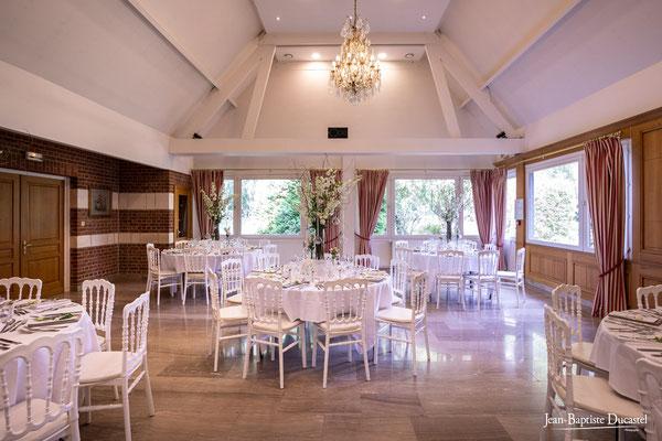 Salle de réception du Château de Tilques - Najeti Hotel - Pas de Calais 62