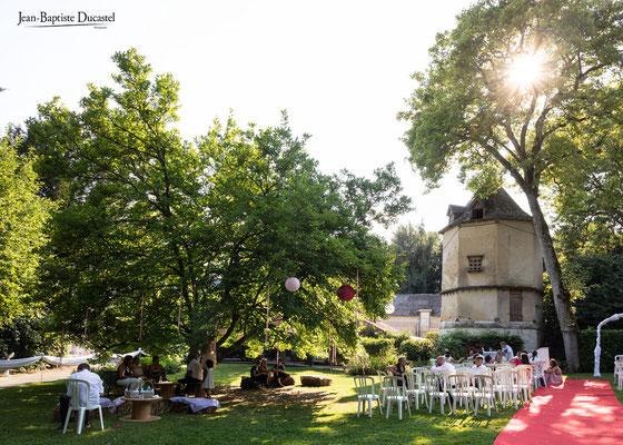 Parc et pigeonnier du Château de Naours près d'Amiens