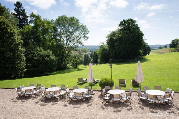Le parc du Château de Belmesnil en Normandie