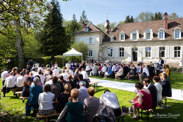 Cérémonie liaïque au Château de Naours