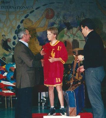 Meilleur Espoir 2002 : Maxime Gaudoux (Liege - Belgique)