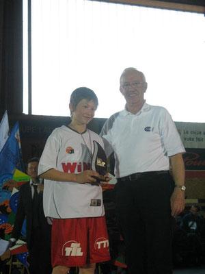 MVP 2012 : Michael Dorn (Bamberg - Allemagne)