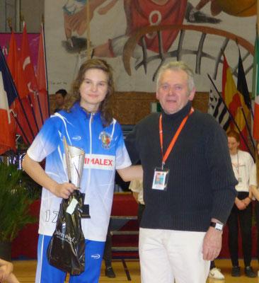 MVP 2016 : Lucie Vavrochova (Plzen - Rep. Tchèque)