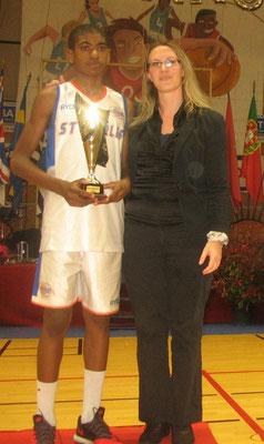 MVP 2014 : Claudien Eliezer (Charenton - France)