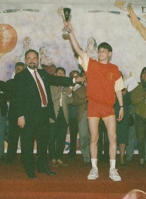 MVP 1990 : S. Morel (Liege - Belgique)