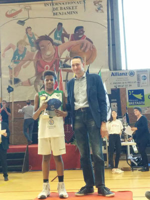 MVP 2017: Nathan Zulemie (Nanterre - France)