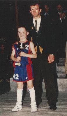 Meilleur Espoir 1989 : N. Clarke (Dublin - Irlande)
