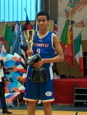MVP 2015 : Armel Traoré (Charenton - France)