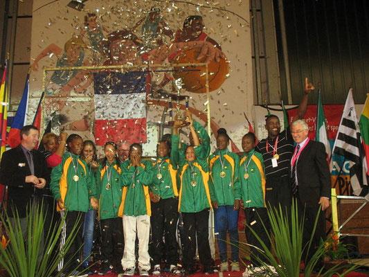 Championne 2013 : Guadeloupe (France)